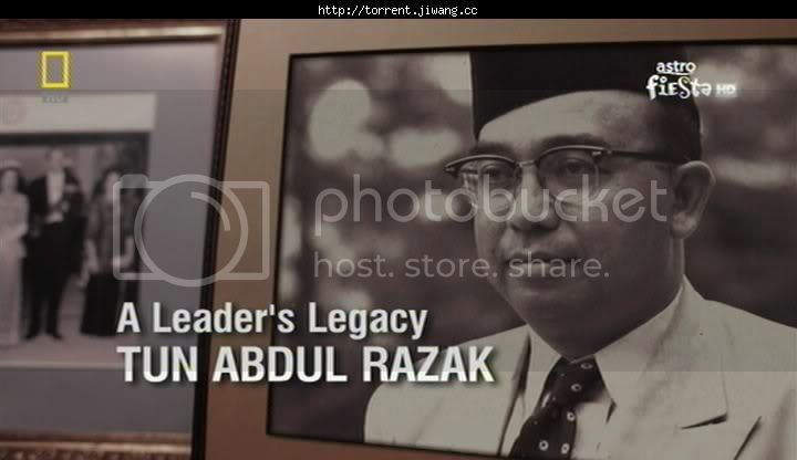 a leaders legacy tun abdul razak poster - 