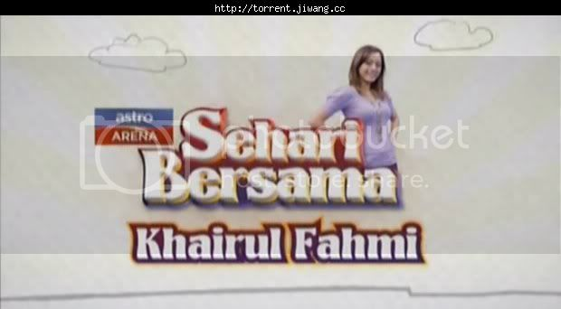 sehari bersama khairul fahmi poster - 